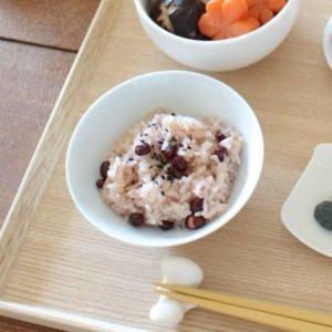 手作りお食い初めメニュー:赤飯