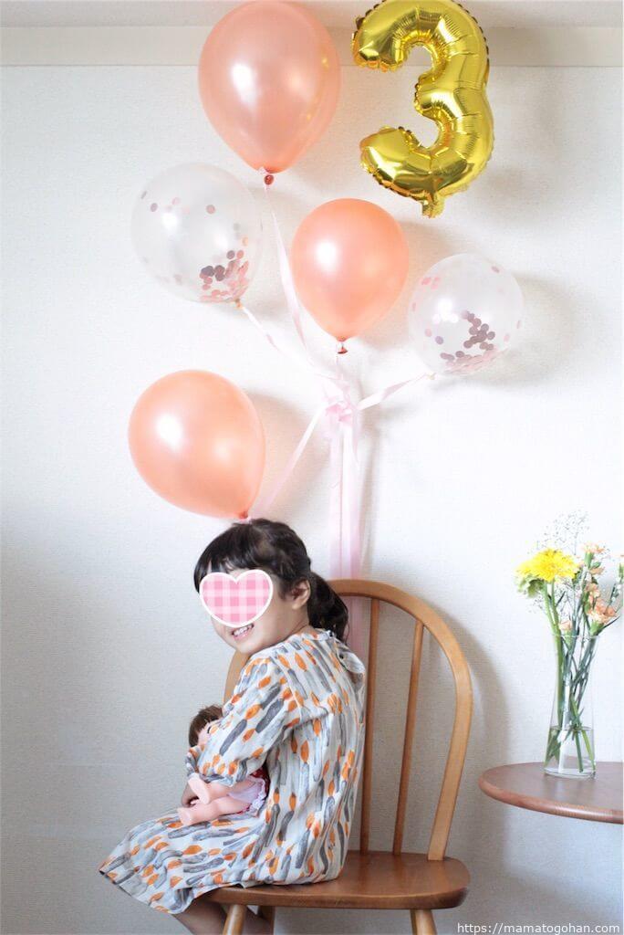 3歳の誕生日メニューはアンパンマンカレーが簡単でおすすめ!