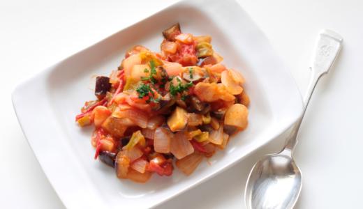 【離乳食・幼児食】アレンジ自在!フレッシュトマトで作るフライパンで簡単夏野菜のラタトゥイユレシピ