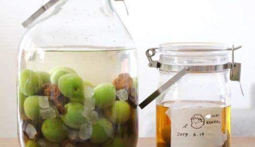 【梅仕事】手作り黒糖梅酒を作ってみた!意外と簡単な作り方とレシピを紹介