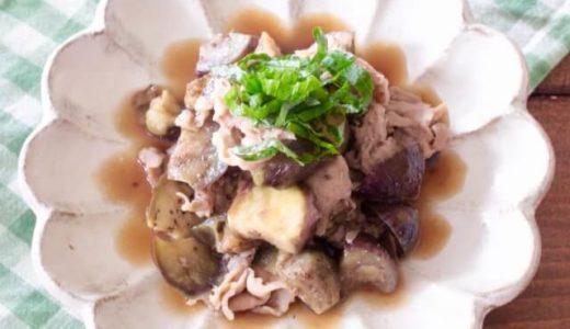 【幼児食】レンジで5分!ごはんが進む甘辛豚なすレシピ