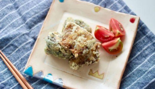【幼児食】材料4つ!カレー風味の鯖缶竜田揚げレシピ