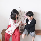 袴ロンパースはお食い初め・初節句の衣装にぴったり!男の子も女の子も可愛いよ